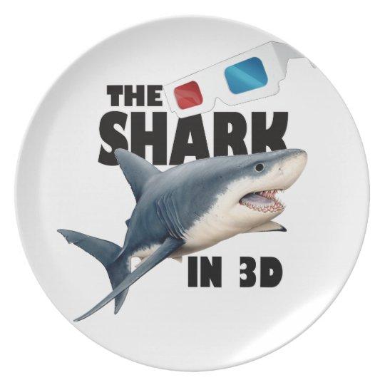 The Shark Movie Plate