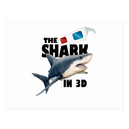 The Shark Movie Postcard