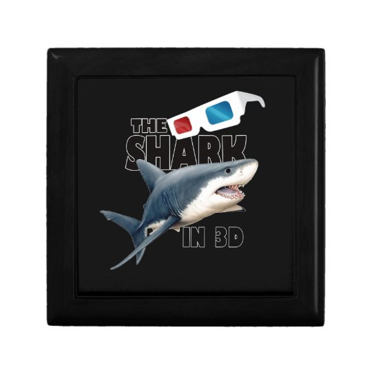 The Shark Movie Small Square Gift Box