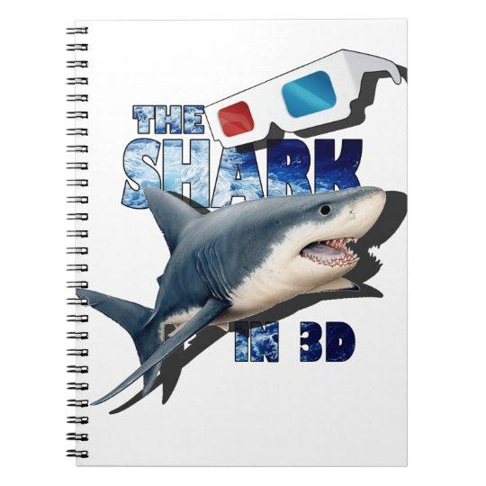 The Shark Movie Spiral Notebook