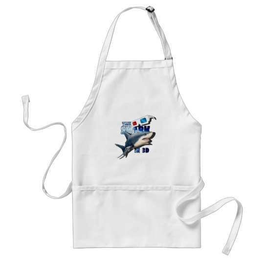 The Shark Movie Standard Apron