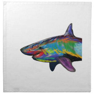 THE SHARK SPECTRUM NAPKIN