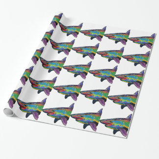 THE SHARK SPECTRUM WRAPPING PAPER