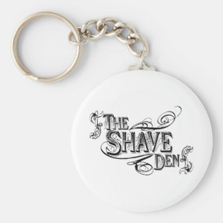 The Shave Den Keychain