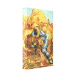 The sheaf Binder by Vincent van Gogh Gallery Wrap Canvas