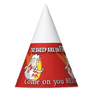 The Sheep are on fire party hat