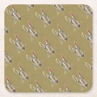 The Sheep Square Paper Coaster