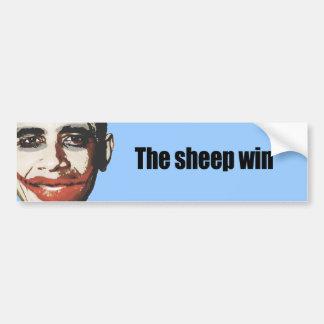 The Sheep win Bumper Sticker