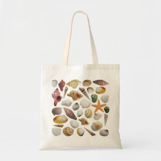 The Shell Collector Budget Tote Canvas Bags