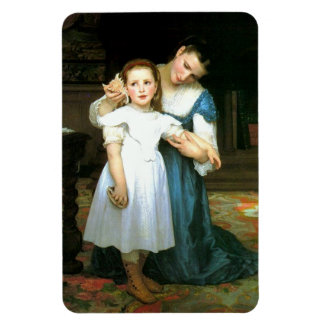 """The Shell"" William-Adolphe Bouguereau Magnet"