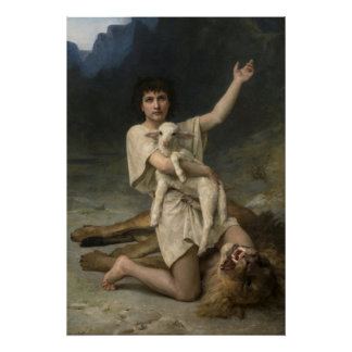 The Shepherd David Triumphant Poster
