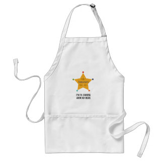 The Sheriff Standard Apron
