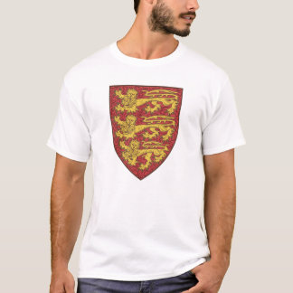 The shield of England with diapering T-Shirt