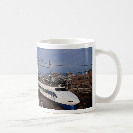 The Shinkansen or Bullet Train, Kyoto, Japan Coffee Mug