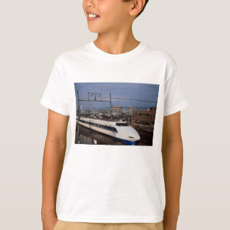 The Shinkansen or Bullet Train, Kyoto, Japan T-Shirt