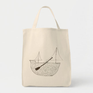 The Ship Tote Bags