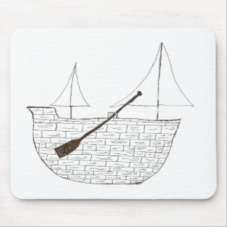 The Ship Mouse Pad