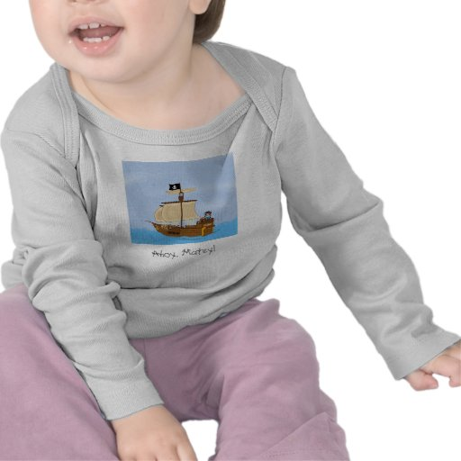 The Ship WIth Pirates  t-shirt