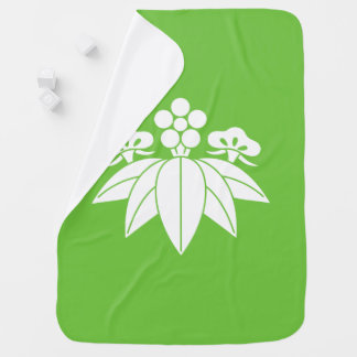 The Shochiku Co., Ltd. plum autumn bellflower Baby Blanket