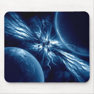The shock of the plan�tes mouse pad