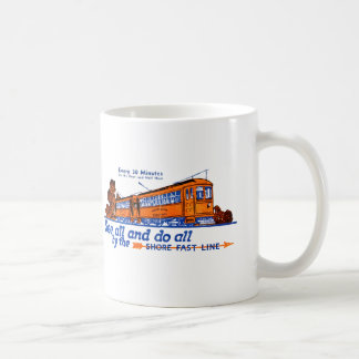 The Shore Fast Line Trolley Service Coffee Mug