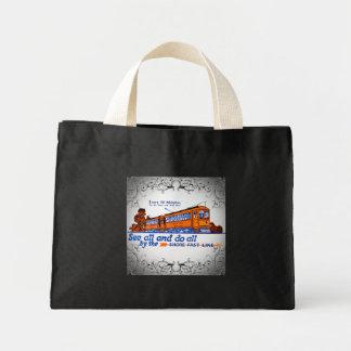 The Shore Fast Line Trolley Service Mini Tote Bag