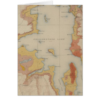 The Shores of Yellowstone Lake Card