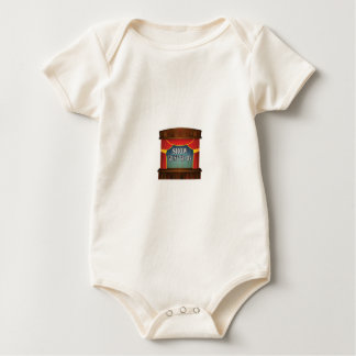 the show must go on baby bodysuit