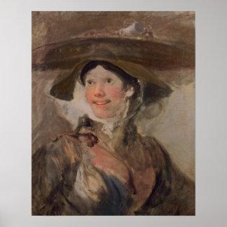 The Shrimp Girl, c.1745 Poster