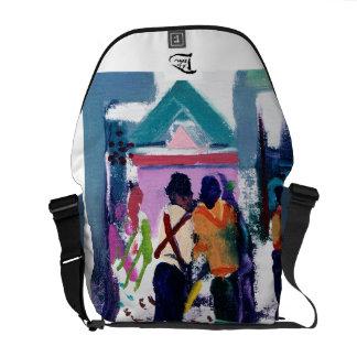 """""""The Shrine"""" Messenger Bag w/Artist Signature"""