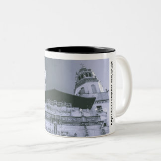 The SHUSH Museum Two-Tone Coffee Mug