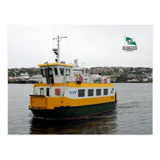 The shuttle Boat Angvik Postcard