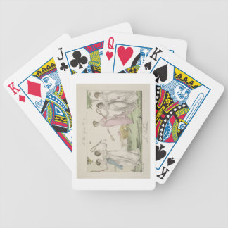 The Shuttlecock, plate 11 from 'Le Bon Genre', 180 Bicycle Poker Deck