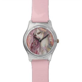 The Shy Flirt Fairy Fantasy Art Watch