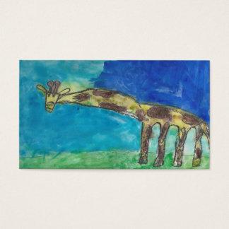 The Shy Giraffe Business Card