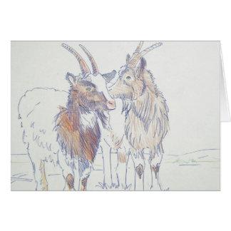 The siblings greeting card