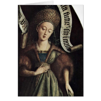 The Sibyl Of Cumae By Hubert Van Eyck Card
