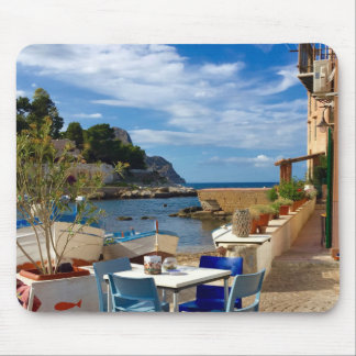 The Sicilian Fishing Village Mouse Pad