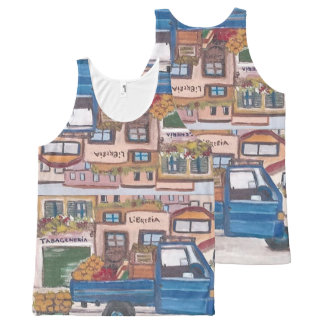 The Sicilian roving vendor's - All-Over Print Singlet