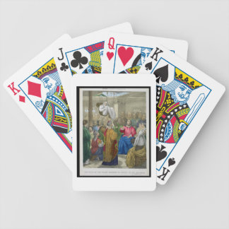 The Sick of the Palsy Brought to Christ by his Fri Poker Deck