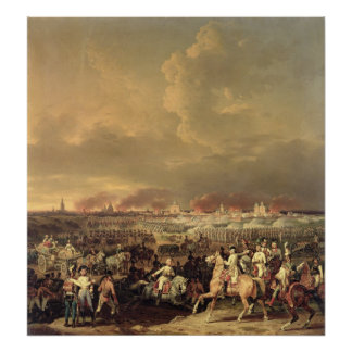 The Siege of Lille by Albert de Saxe-Tachen Poster