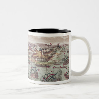 The Siege of Malta, 12th June 1798 Two-Tone Coffee Mug