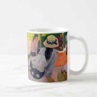 The Siesta by Paul Gauguin Tahitian Women Tahiti Coffee Mug