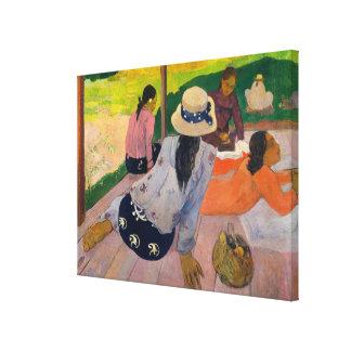 The Siesta Canvas Print