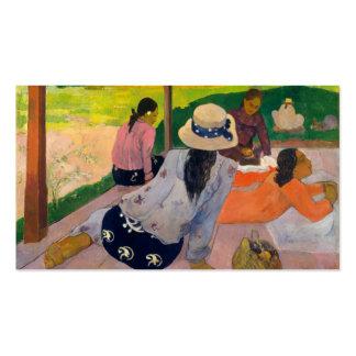 The Siesta - Paul Gauguin Business Card Templates