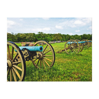 The Sights Of The Shiloh Military Park In Shiloh Canvas Prints