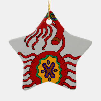 The Sigil of the Stern Embrace Ceramic Ornament