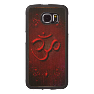 The sign om wood phone case