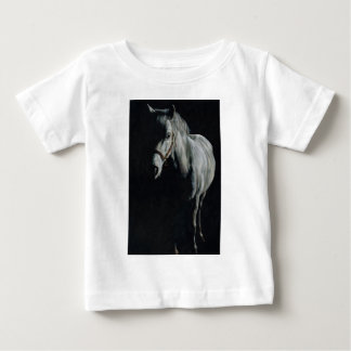 The Silver Horse in the shadows Baby T-Shirt