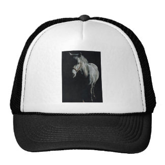 The Silver Horse in the shadows Cap